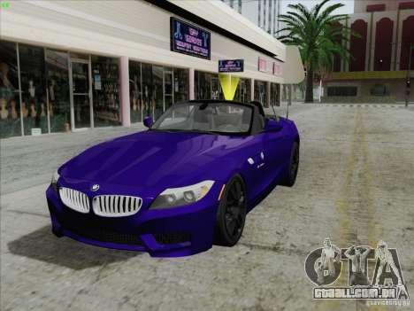 BMW Z4 2011 para GTA San Andreas