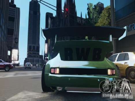 Porsche 911 Turbo RWB Pandora One Beta para GTA 4 vista direita