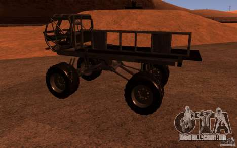 Heist Truck para GTA San Andreas esquerda vista