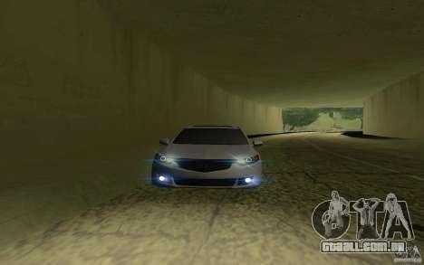 Honda Accord para GTA San Andreas traseira esquerda vista