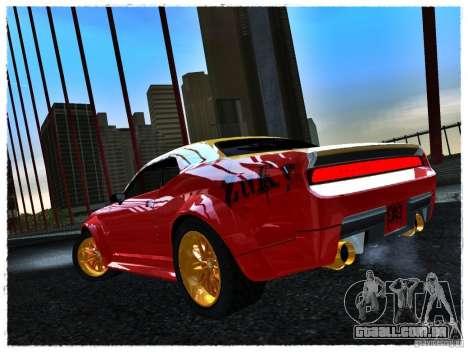 Dodge Challenger Calibri-Ace para GTA San Andreas esquerda vista
