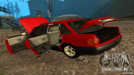 Audi 80 B3 v2.0 para GTA San Andreas vista traseira