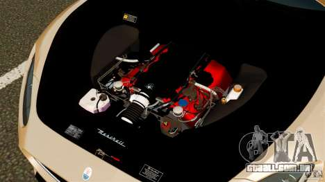 Maserati GT MC Stradale para GTA 4 vista lateral