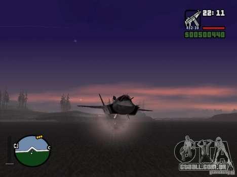 Foguete para GTA San Andreas terceira tela