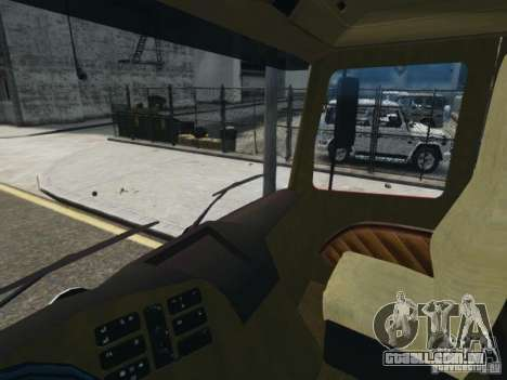 Mercedes-Benz Vanntankbil / Water Tanker para GTA 4 vista de volta