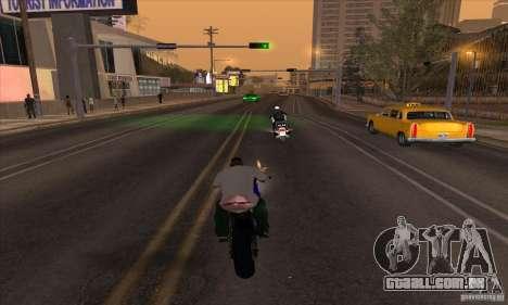 No wanted v1 para GTA San Andreas segunda tela