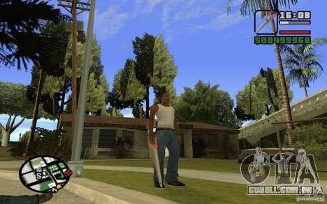 Serra para GTA San Andreas sexta tela