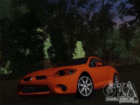 Mitsubishi Eclipse GT V6 para GTA San Andreas vista inferior