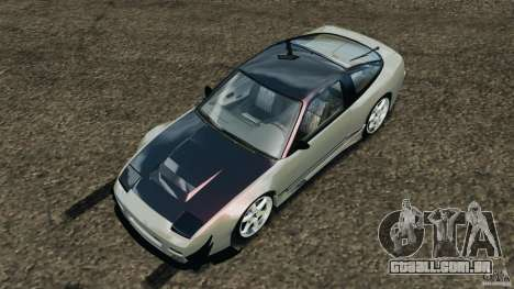 Nissan 240SX Kawabata Drift para GTA 4 vista inferior