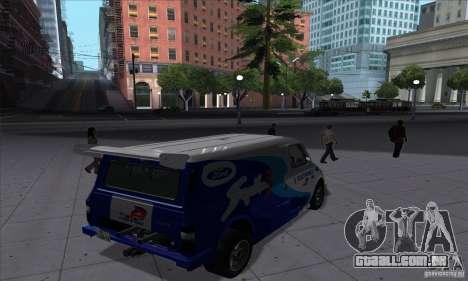 Ford Transit Supervan 3 2004 para GTA San Andreas vista direita