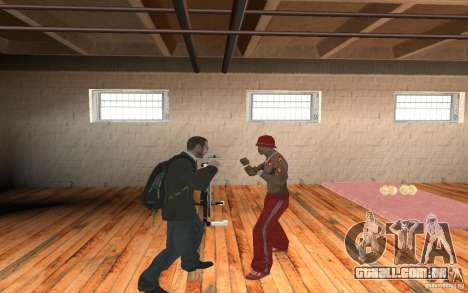 The combat system from GTA IV para GTA San Andreas segunda tela