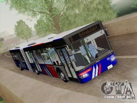 Design X3 para GTA San Andreas vista interior