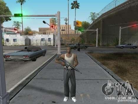 Alterar caracteres para GTA San Andreas segunda tela