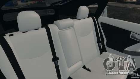Toyota Prius NY Airport Service para GTA 4 vista lateral