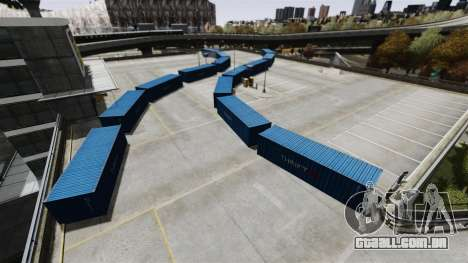 Drift-pista no aeroporto para GTA 4 quinto tela