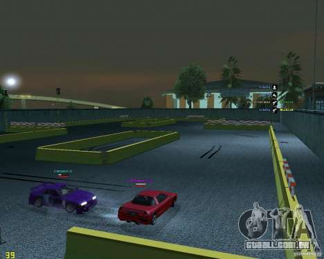 Circuito de tração para GTA San Andreas segunda tela