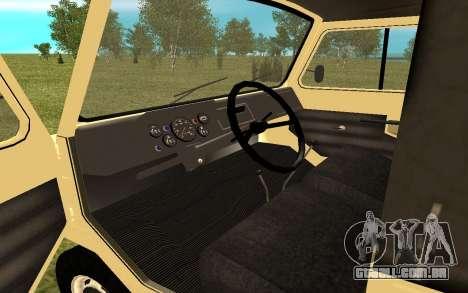 LuAZ 13021 para GTA San Andreas vista direita