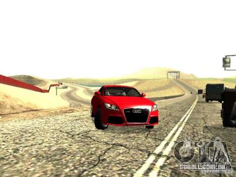 Audi TT-RS Coupe 2011 v.2.0 para GTA San Andreas vista direita