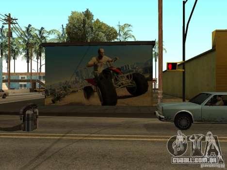 Cartaz de GTA 5 para GTA San Andreas segunda tela
