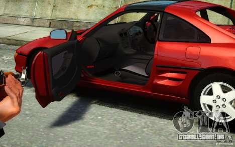 Toyota MR2 GT para GTA 4 traseira esquerda vista