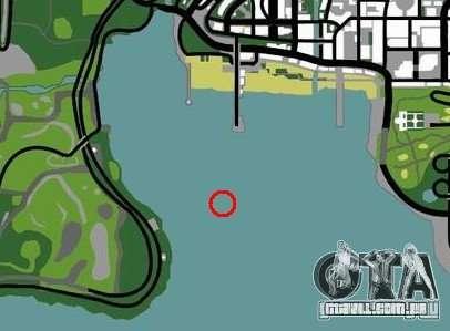 Plataforma de petróleo em Los Santos para GTA San Andreas sexta tela