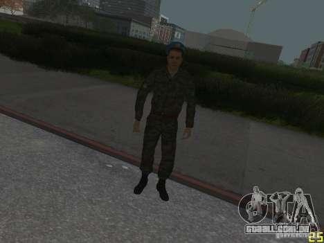 Spetsnaz VDV para GTA San Andreas quinto tela