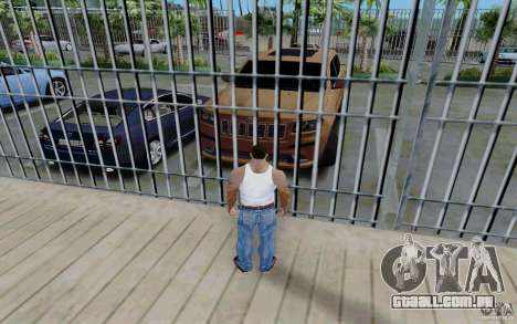 Estacionamento (pago) para GTA San Andreas segunda tela