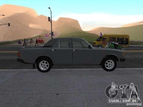 Volga GAZ 31029 para GTA San Andreas esquerda vista