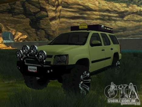 Chevrolet Tahoe Off Road para GTA San Andreas
