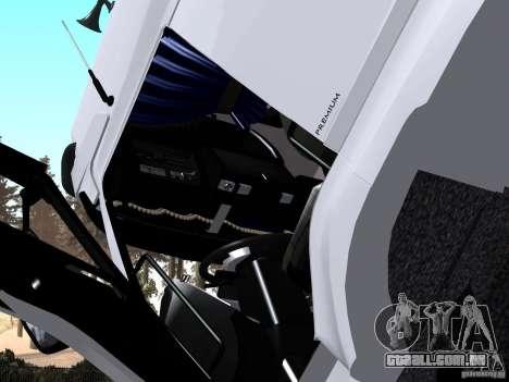 Renault Premium Mixer para GTA San Andreas vista direita