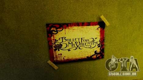 Novos posters no primeiro apartamento para GTA 4 por diante tela