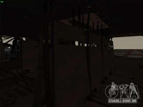 MH-X Stealthhawk para GTA San Andreas vista direita