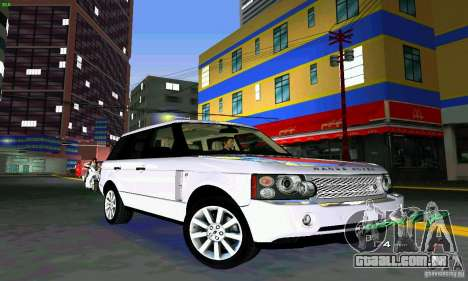 Land Rover Range Rover Supercharged 2008 para GTA Vice City vista interior