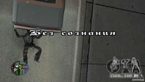 GTAIV HUD para uma ampla tela (16: 9) v2 para GTA San Andreas sexta tela