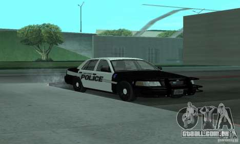 Ford Crown Victoria 2009 Slicktop para GTA San Andreas vista direita