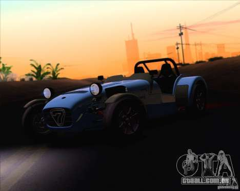 Caterham Superlight R500 para GTA San Andreas vista interior