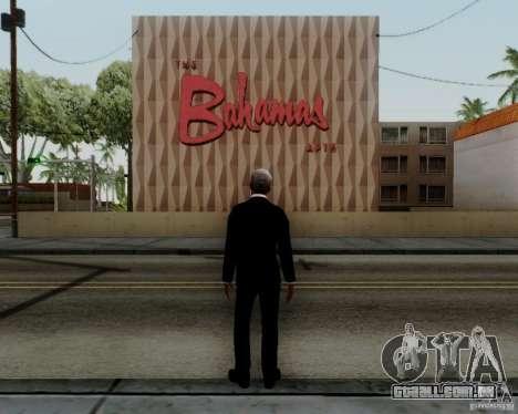 Morgan Freeman para GTA San Andreas por diante tela