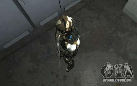 Crysis 3 The Hunter skin para GTA 4 sétima tela