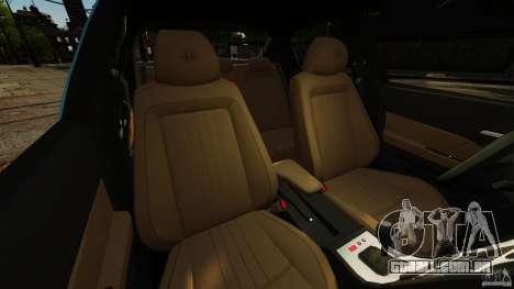 Alfa Romeo 159 TI V6 JTS para GTA 4 vista interior