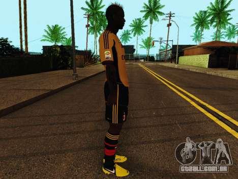Mario Balotelli v3 para GTA San Andreas segunda tela