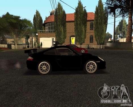 Porsche 911 GT3 RS para vista lateral GTA San Andreas