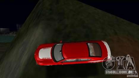 Dodge Charger RT para GTA Vice City vista superior
