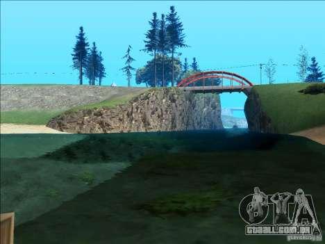 ENBSeries v1.1 para GTA San Andreas quinto tela