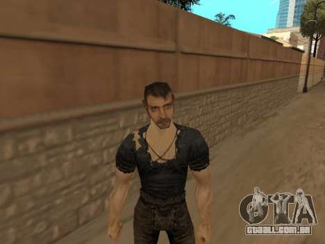 Pak peles de gótico 1 para GTA San Andreas por diante tela