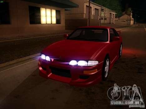 Nissan Silvia S14 Ks Sporty 1994 para GTA San Andreas vista inferior