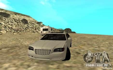 Chrysler 300C para GTA San Andreas traseira esquerda vista