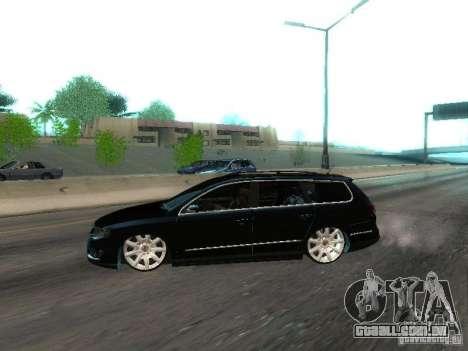 Volkswagen Passat B6 Variant Com Bentley 20 Fixa para GTA San Andreas esquerda vista