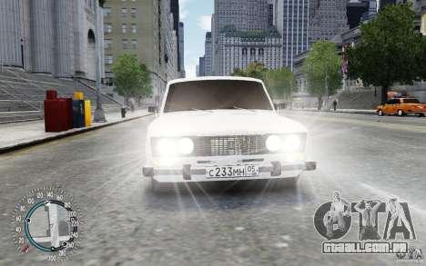 VAZ 2106 para GTA 4 traseira esquerda vista