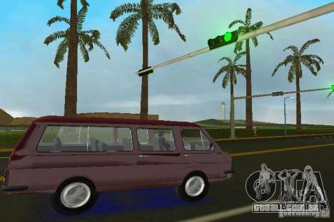 RAF 2203 para GTA Vice City vista direita