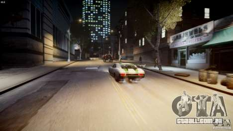 Dukes City-Drag para GTA 4 vista superior